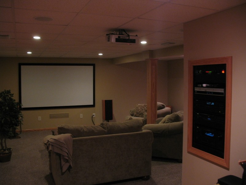 Setting up your Home's Theater Room