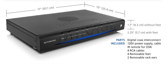 Autonomic Controls Mirage MMS-5A