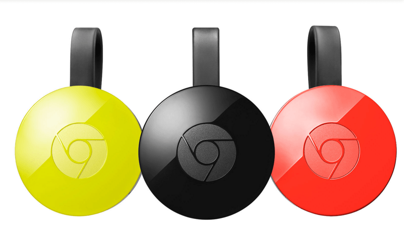 New Google Chromecast