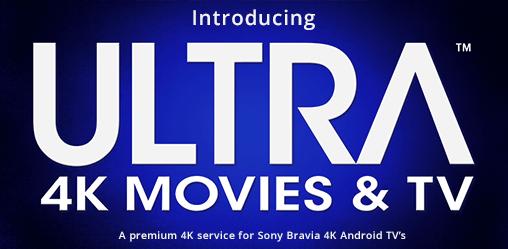 Sony Debuts 4K Ultra Streaming Service