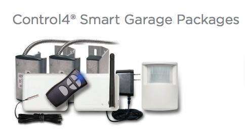 Control4 Smart Garage Tech