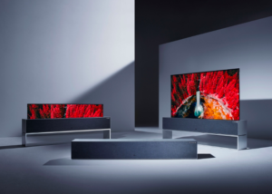 Rollable LG TV and other TV News from CES 2019